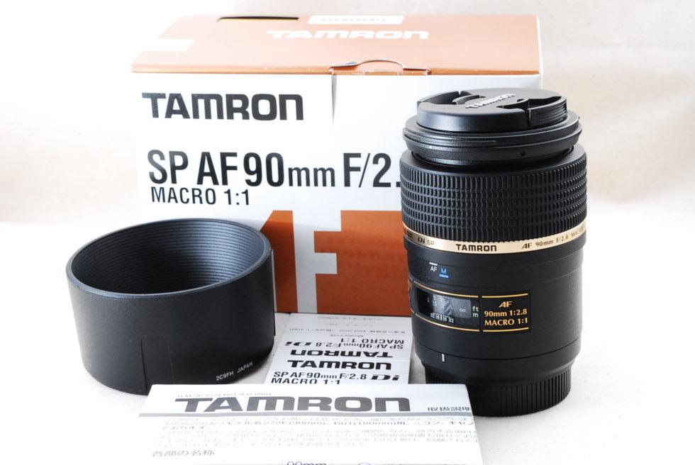 TAMRON SP AF 90mm F2.8 Di MACRO 272ENII